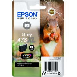 Epson T478XL T04F6 GREY Compatible RBX (nog niet leverbaar)